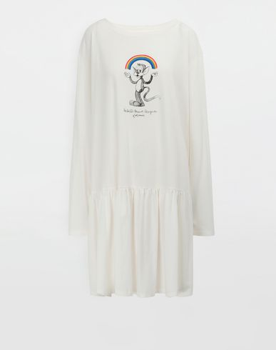 MM6 MAISON MARGIELA Short dress [*** pickupInStoreShipping_info ***] Oversized Rainbowmaker print dress f