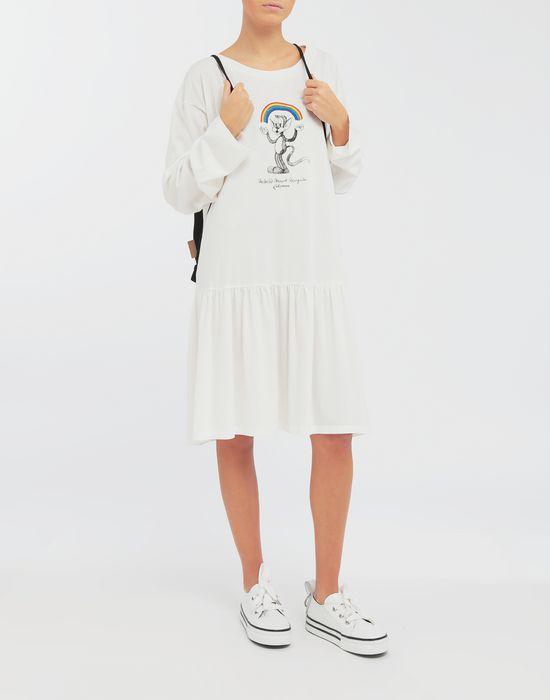 MM6 MAISON MARGIELA Oversized Rainbowmaker print dress Short dress [*** pickupInStoreShipping_info ***] d