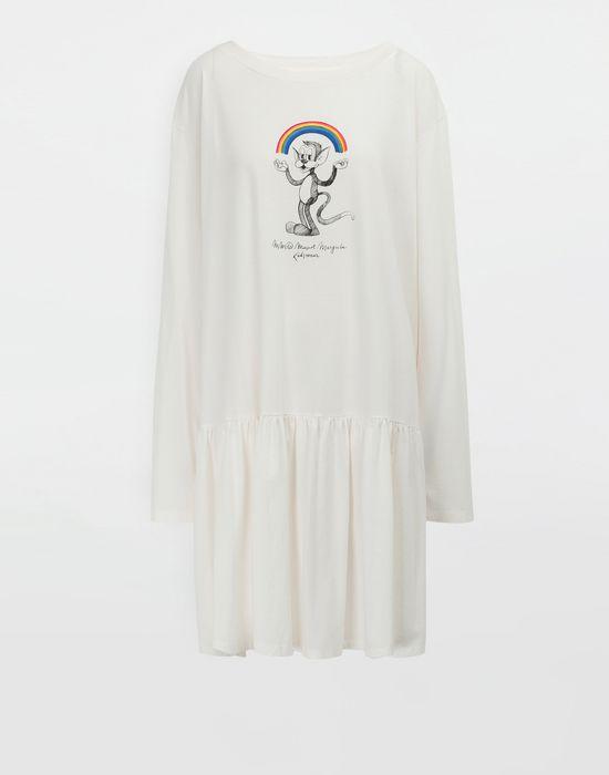 MM6 MAISON MARGIELA Oversized Rainbowmaker print dress Short dress [*** pickupInStoreShipping_info ***] f