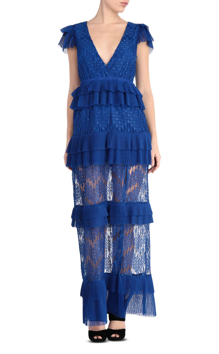 JUST CAVALLI Long lace dress Long dress Woman f