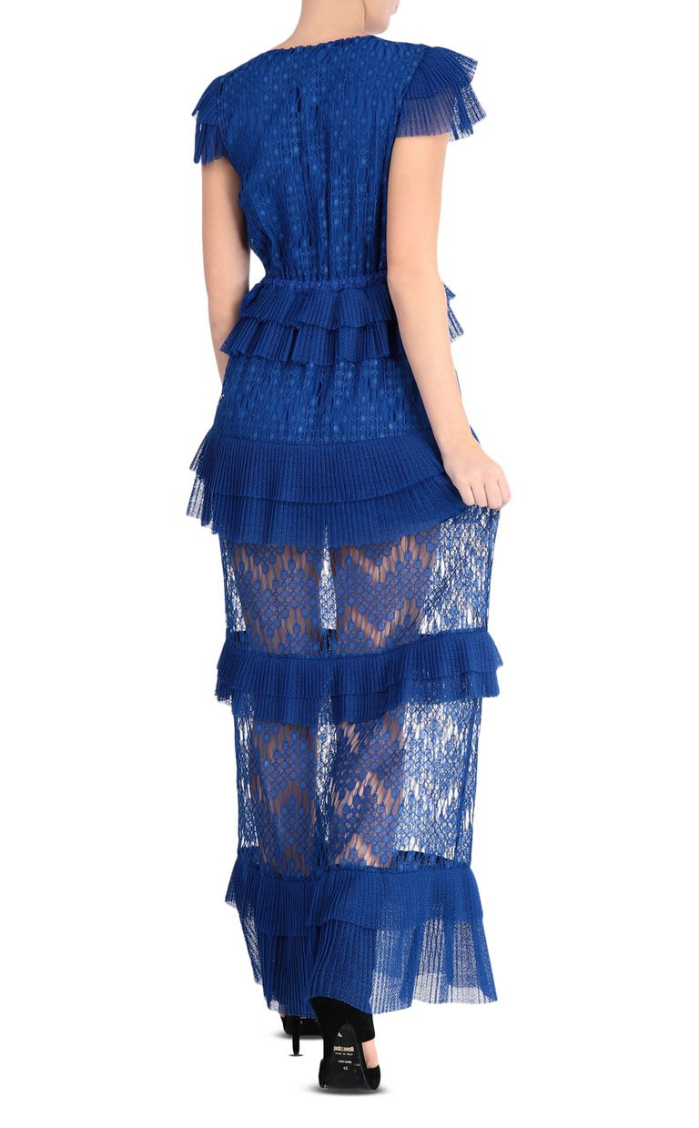 JUST CAVALLI Long lace dress Long dress Woman r