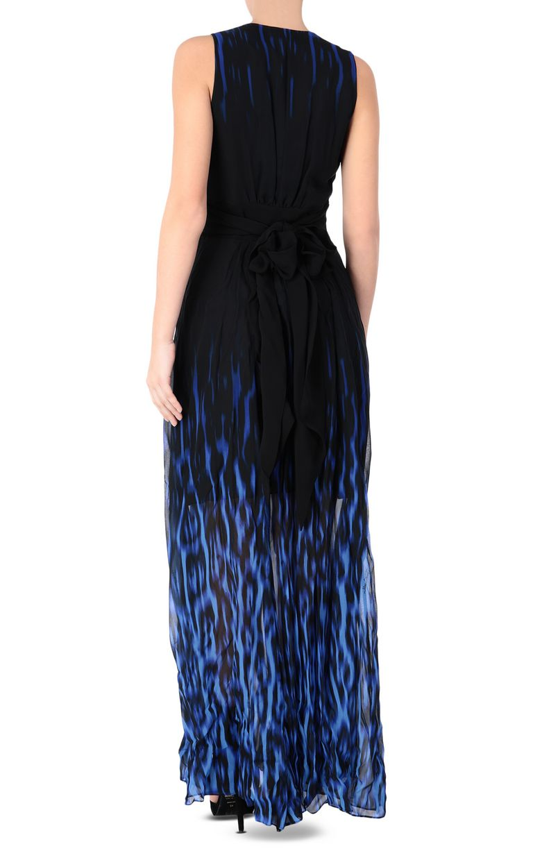 JUST CAVALLI Leopard-print fading-colour dress Long dress Woman r