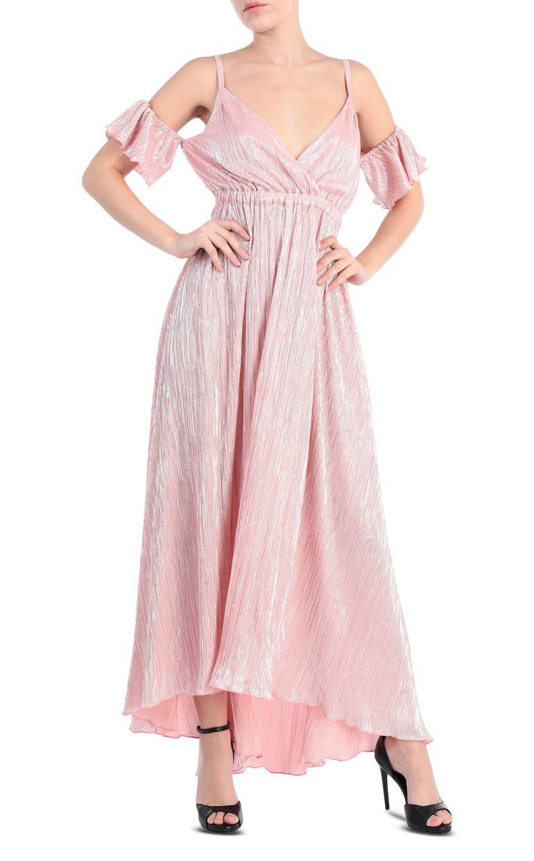 JUST CAVALLI Full-length pleated dress in lurex Long dress [*** pickupInStoreShipping_info ***] f
