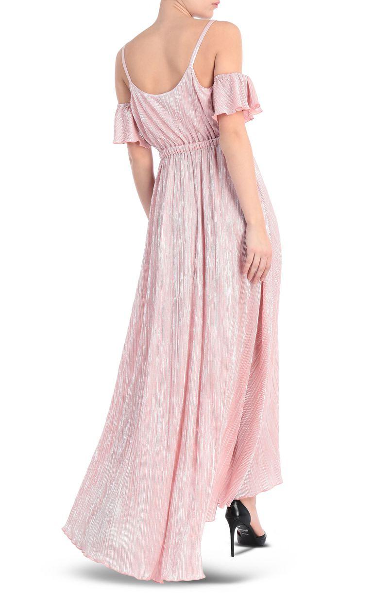 JUST CAVALLI Full-length pleated dress in lurex Long dress [*** pickupInStoreShipping_info ***] r
