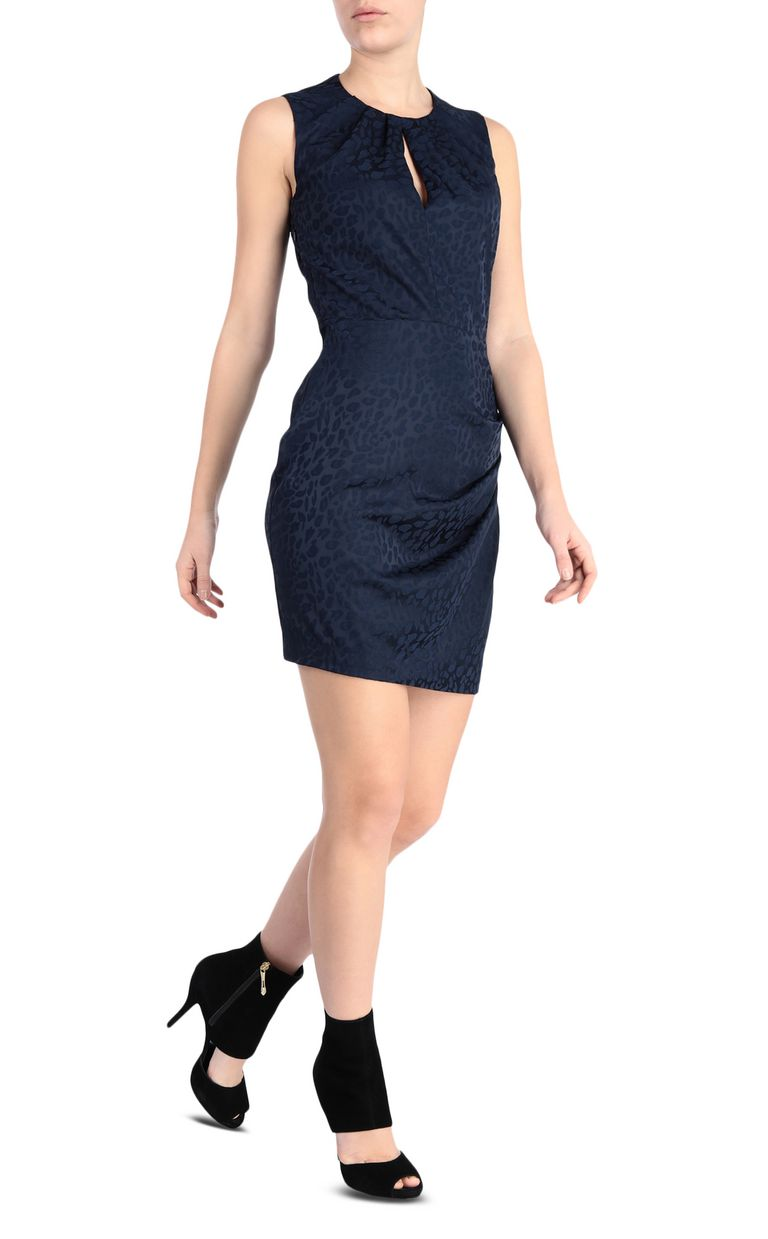 JUST CAVALLI Short leopard-jacquard dress Dress [*** pickupInStoreShipping_info ***] d