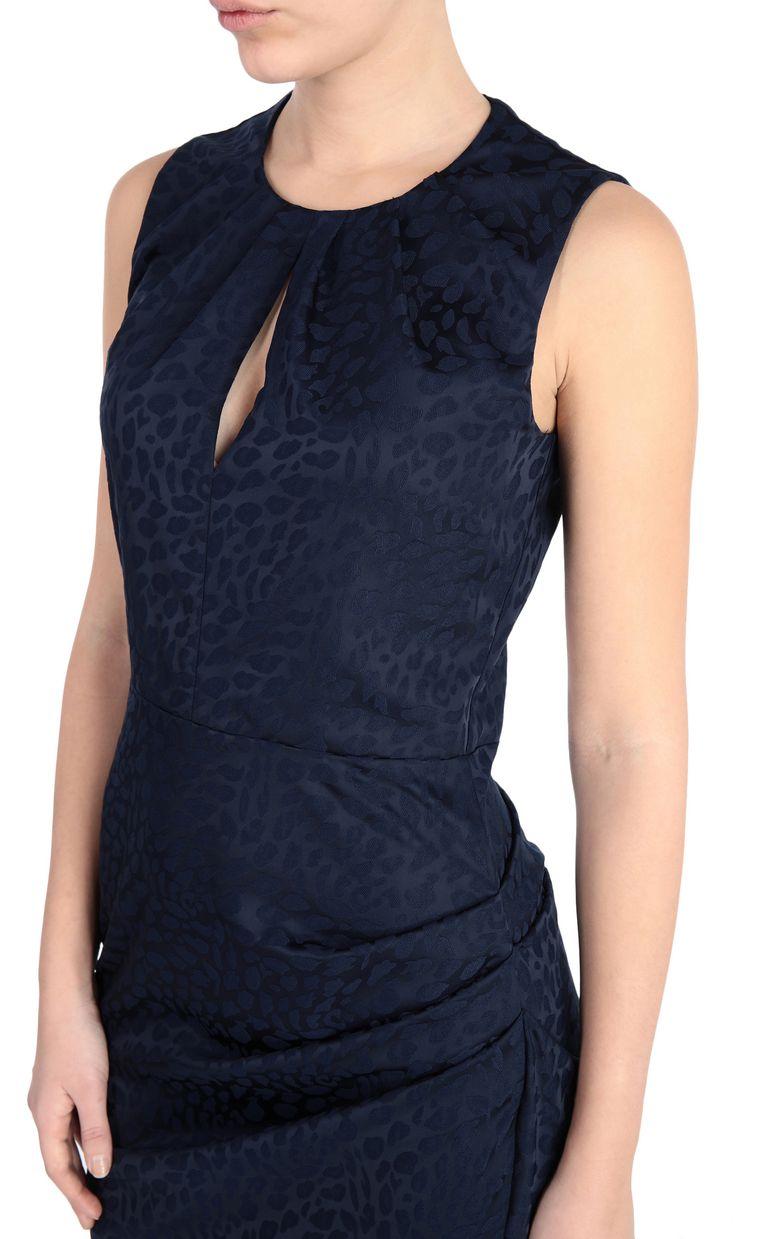 JUST CAVALLI Short leopard-jacquard dress Dress Woman e