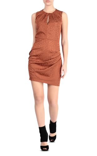 JUST CAVALLI Dress      pickupInStoreShipping info      Short dress with  leopard e60f75008d