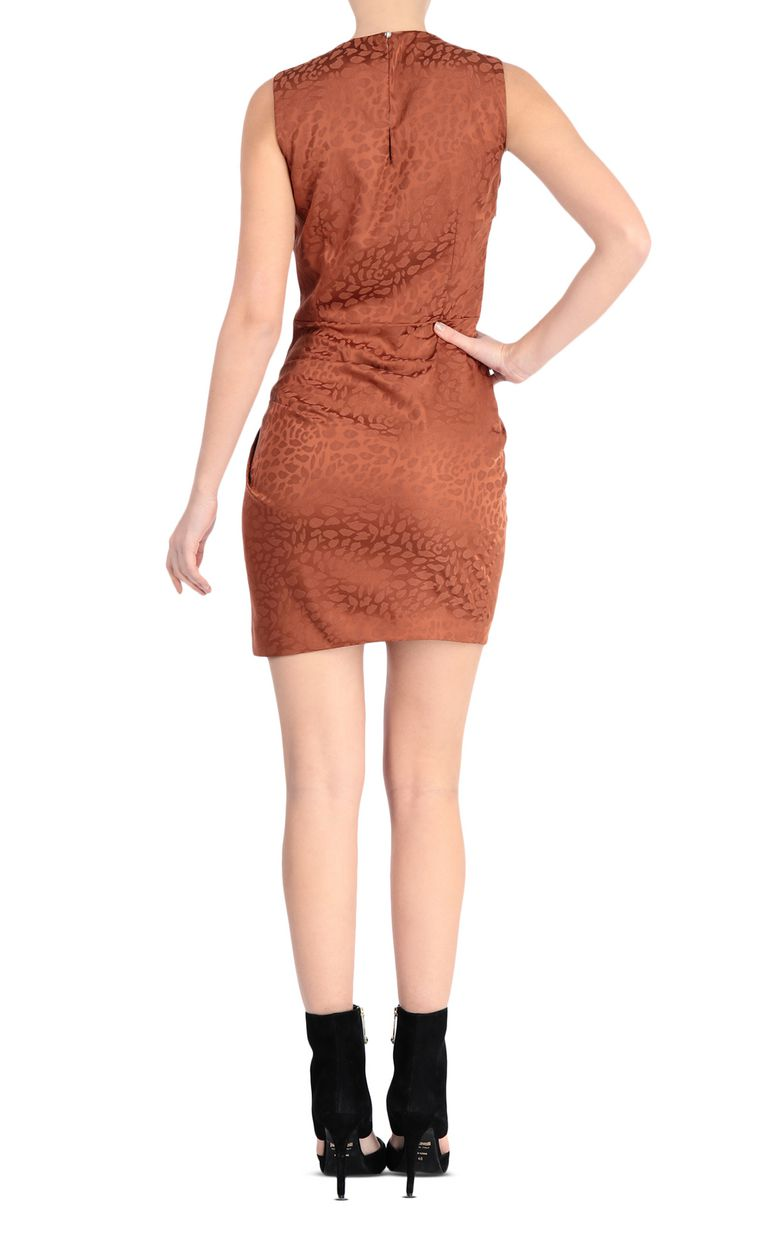 JUST CAVALLI Short leopard-jacquard dress Dress [*** pickupInStoreShipping_info ***] r