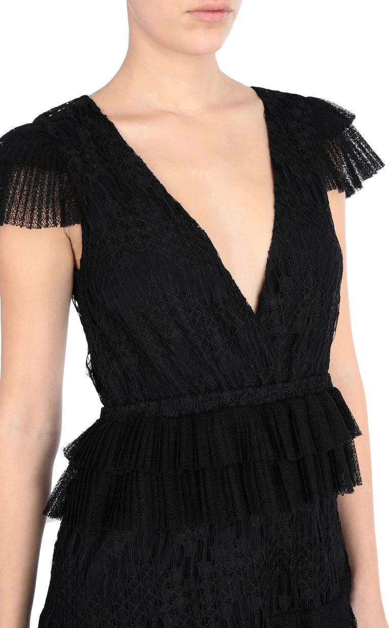 JUST CAVALLI Long lace dress Long dress Woman e