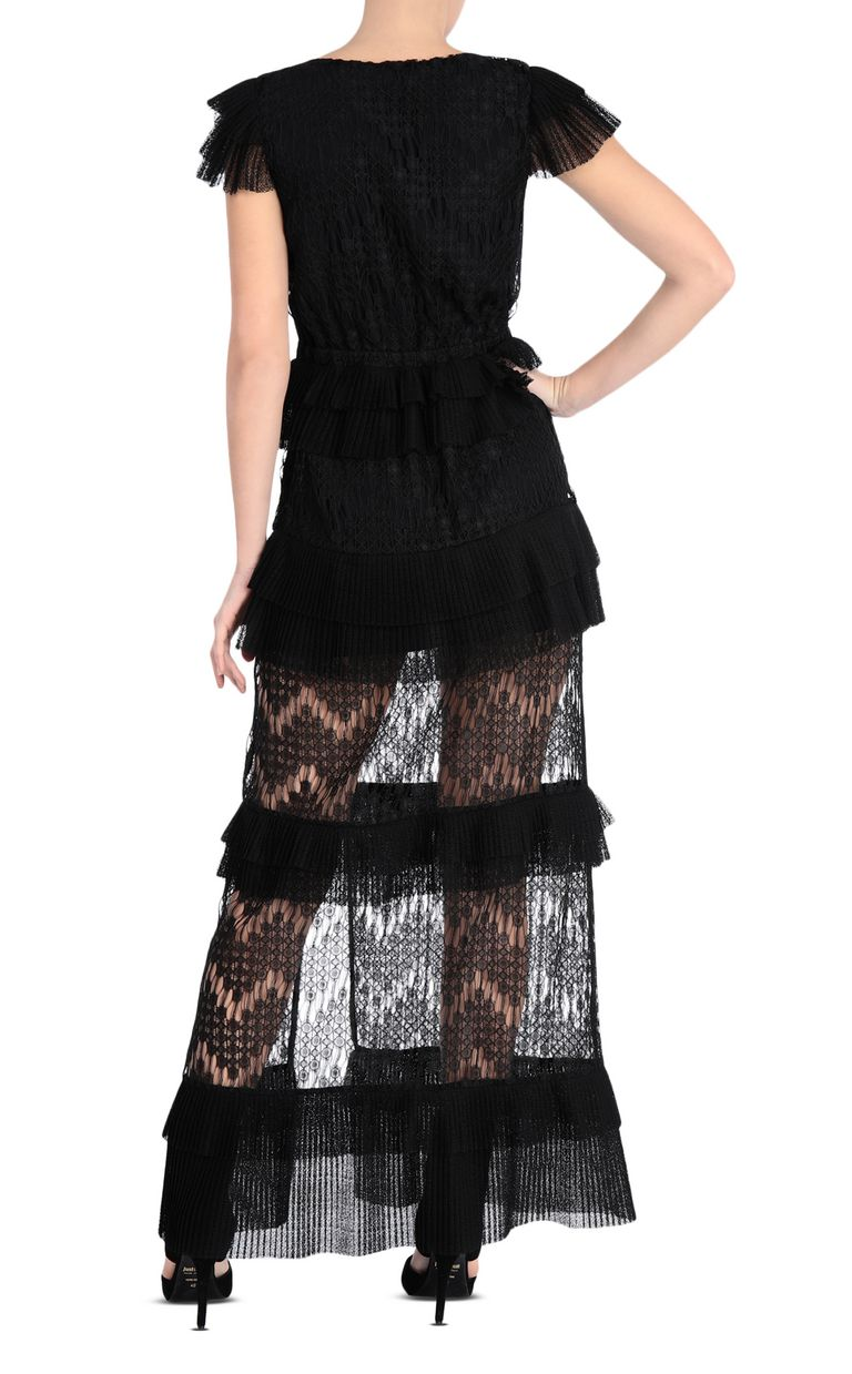 JUST CAVALLI Long lace dress Long dress Woman r