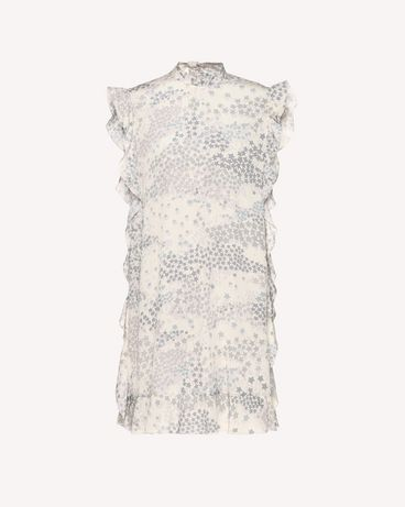 REDValentino RR3VAA30UTU GZ7 Printed dress Woman a