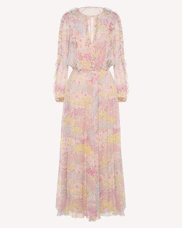 REDValentino RR3VAB20LNM 377 Kleid mit Prints Damen a