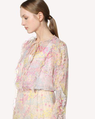 REDValentino RR3VAB20LNM 377 Kleid mit Prints Damen e