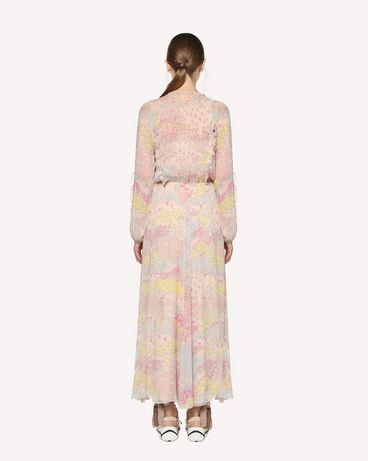 REDValentino RR3VAB20LNM 377 Printed dress Woman r