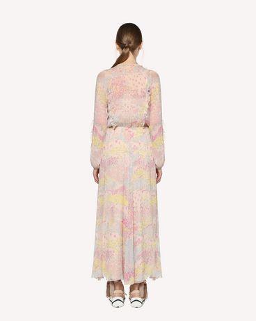 REDValentino RR3VAB20LNM 377 Kleid mit Prints Damen r
