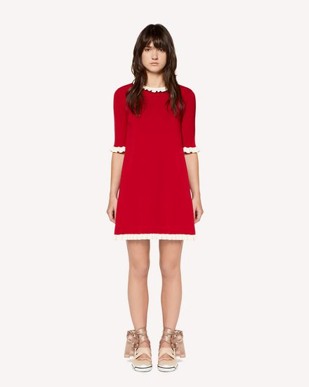 REDValentino Knit Dress Woman RR3KDA24TSJ D05 f
