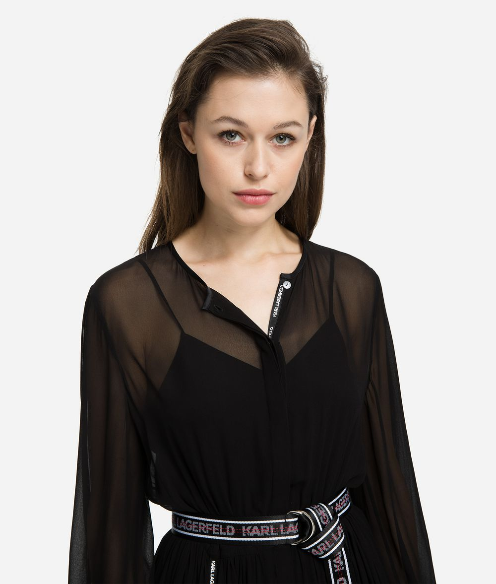 KARL LAGERFELD Maxi Shirt Dress Dress Woman f
