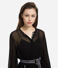 KARL LAGERFELD Maxi Shirt Dress 9_f