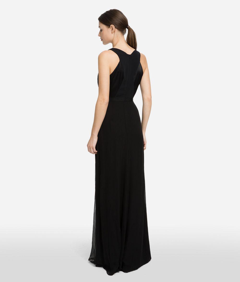 KARL LAGERFELD Длинное шёлковое платье Платье Для Женщин d