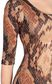 JUST CAVALLI Short dress with python print Dress Woman e