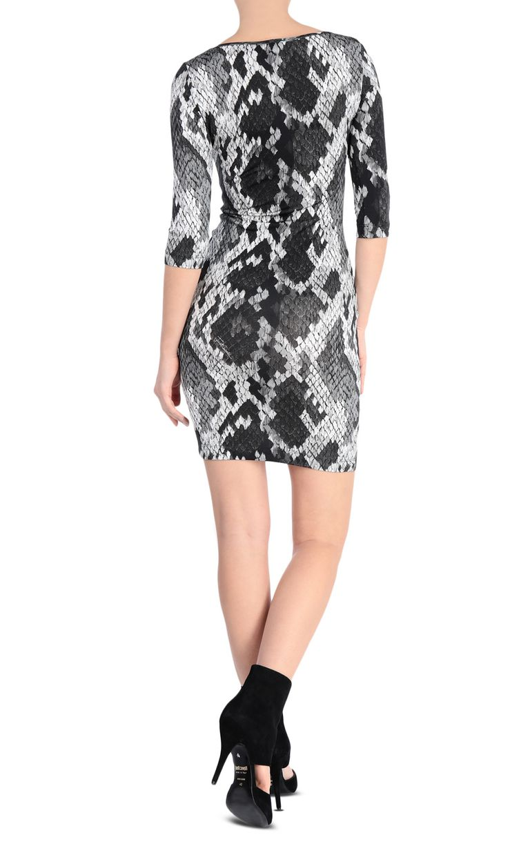 JUST CAVALLI Short dress with leopard print Dress [*** pickupInStoreShipping_info ***] r