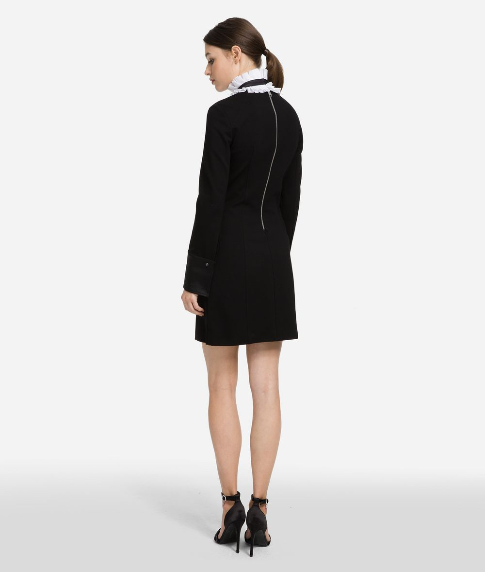 KARL LAGERFELD Dress with Detachable Collar Dress Woman d