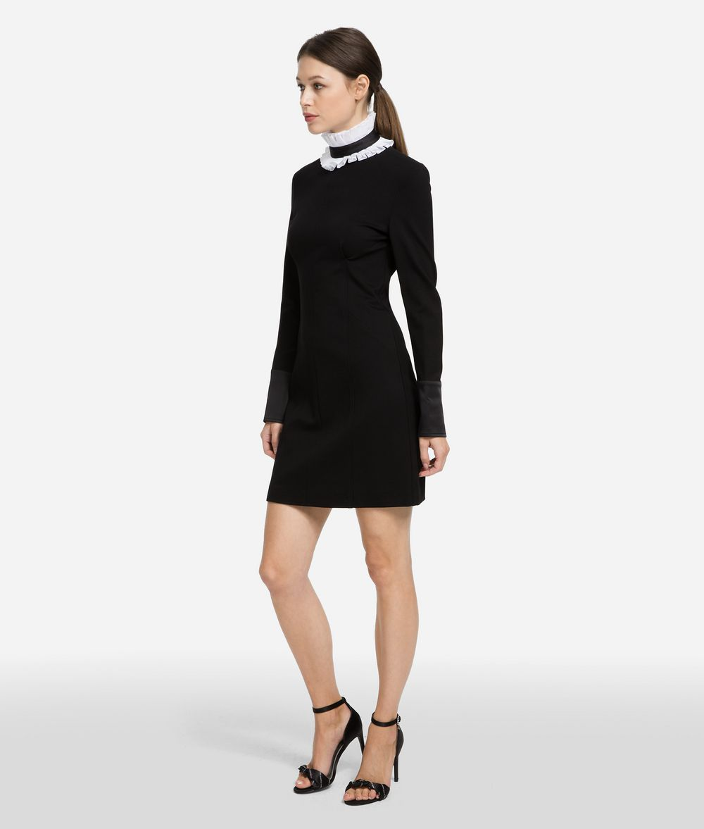 KARL LAGERFELD Dress with Detachable Collar Dress Woman f