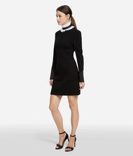 KARL LAGERFELD Dress with Detachable Collar 9_f