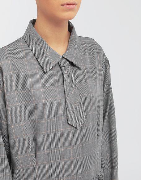 MM6 MAISON MARGIELA Checked necktie maxi dress 3/4 length dress Woman a