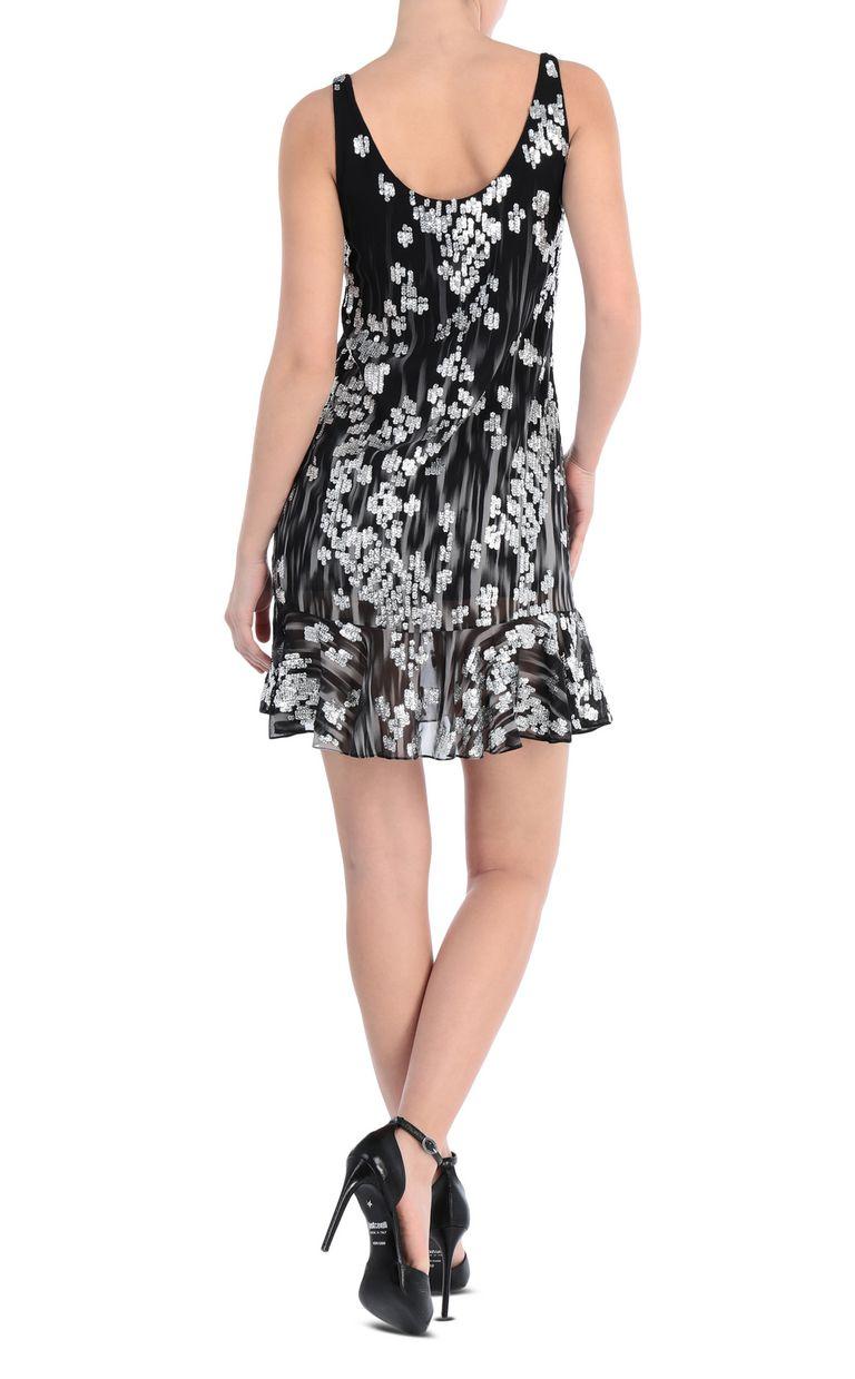 JUST CAVALLI Mini dress with sequins Dress [*** pickupInStoreShipping_info ***] r
