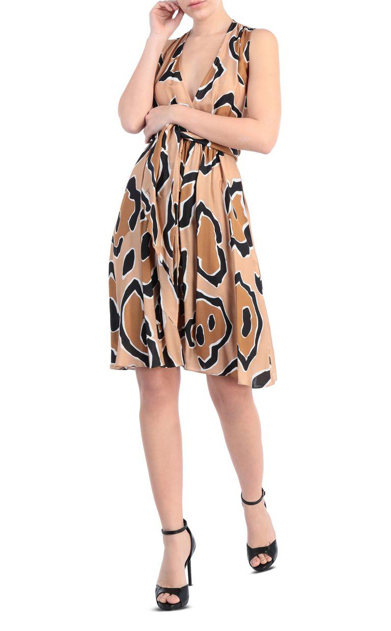 JUST CAVALLI Dress with panther print design Dress [*** pickupInStoreShipping_info ***] d