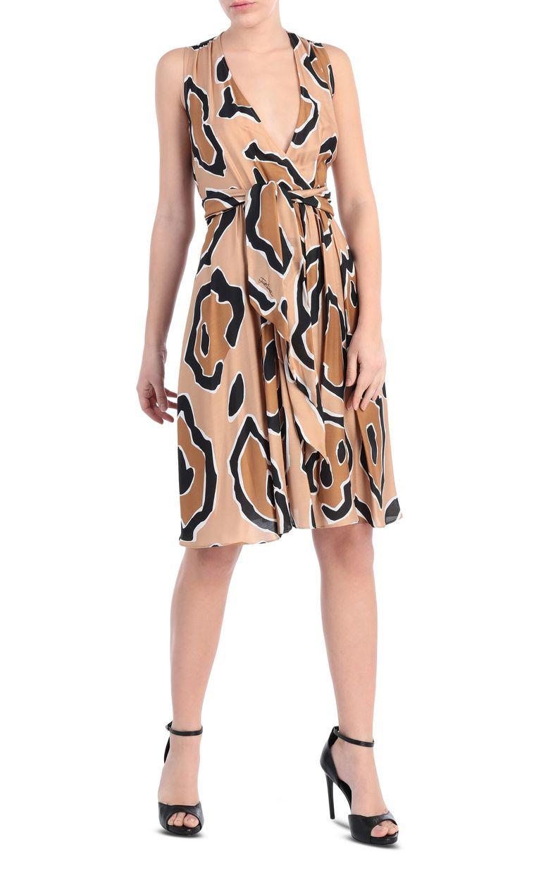 JUST CAVALLI Dress with panther print design Dress [*** pickupInStoreShipping_info ***] f