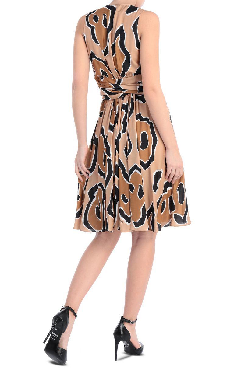JUST CAVALLI Dress with panther print design Dress [*** pickupInStoreShipping_info ***] r