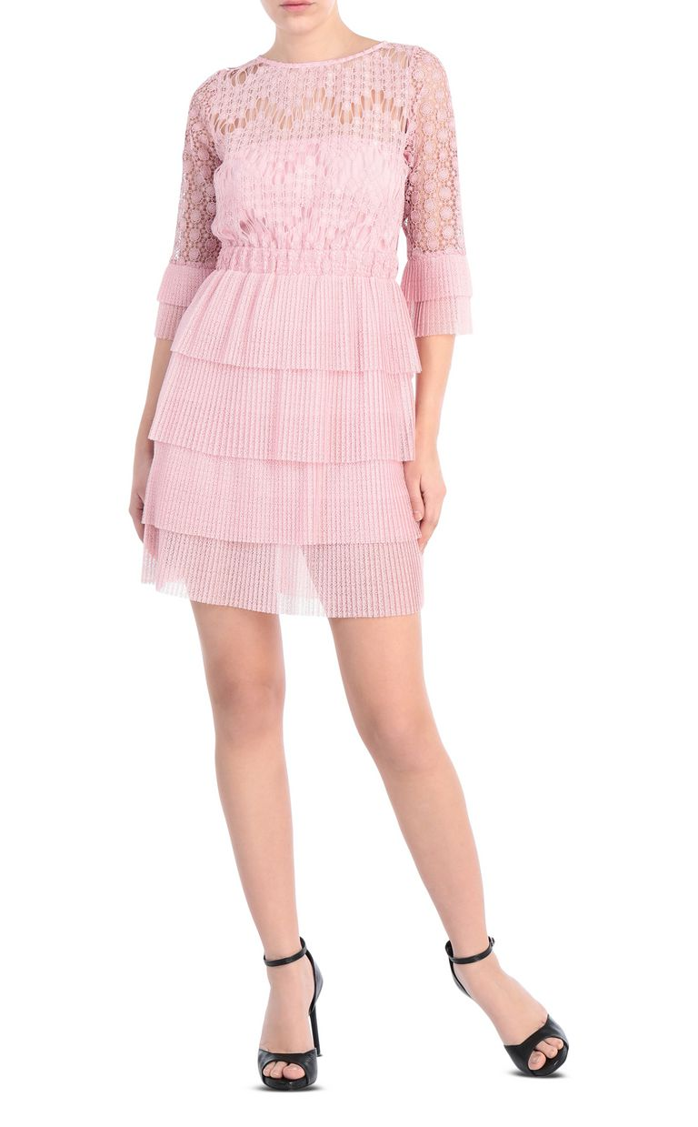 JUST CAVALLI Short lace dress Dress Woman f