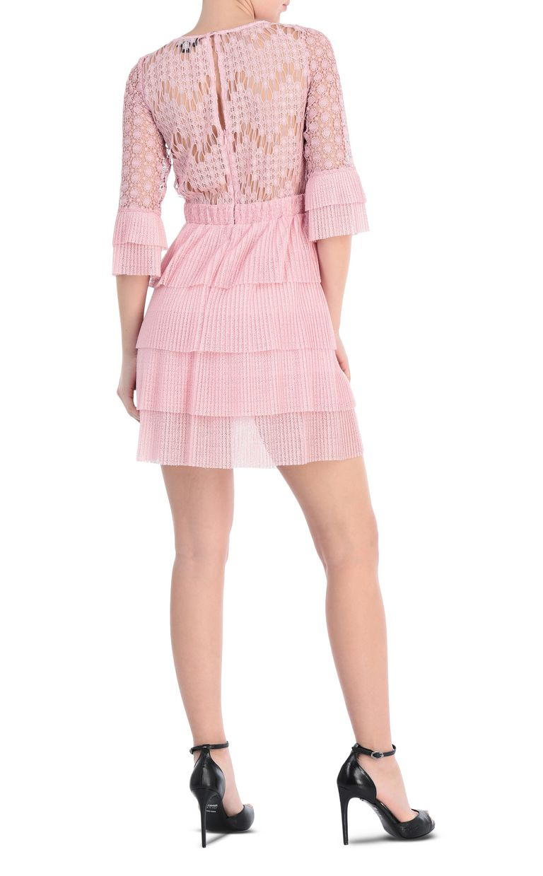 JUST CAVALLI Short lace dress Dress Woman r