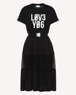 REDValentino Knit Dress Woman RR3KDA18SXC 0NO a