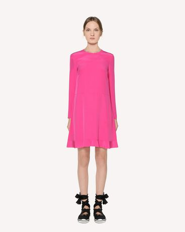REDValentino Silk dress with bow detail