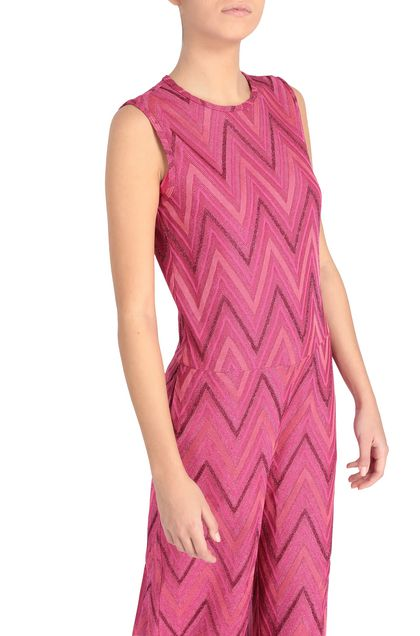 M MISSONI Jumpsuit Fuchsia Woman - Front