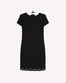 REDValentino Short dress Woman RR3VA6C5DIP 0MG a