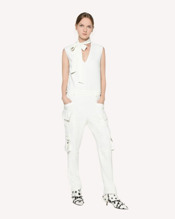 REDValentino Techno Fluid cargo-style jumpsuit