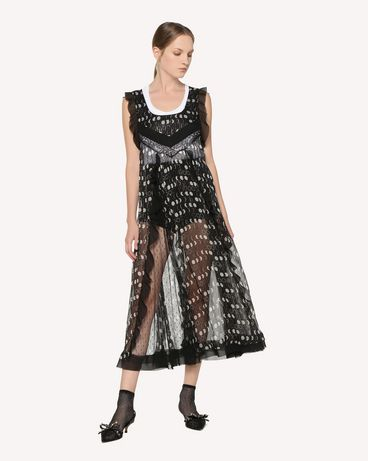 REDValentino RR3VAA75BGH 0NO Long dress Woman d