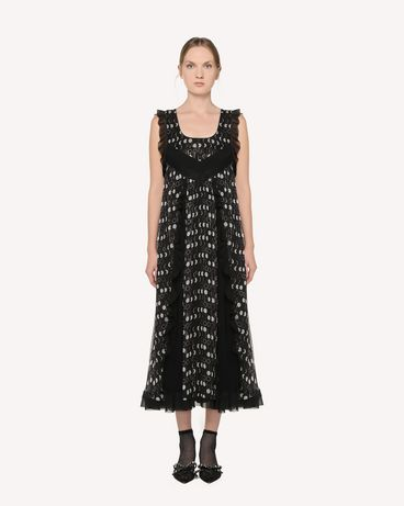 REDValentino RR3VAA75BGH 0NO Long dress Woman f