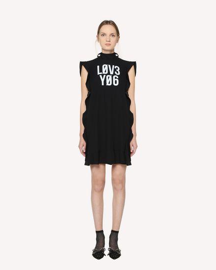 REDValentino Short dress Woman RR3VAC900F1 0NO f