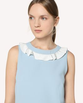 REDValentino Techno Fluid dress with ruffle detail