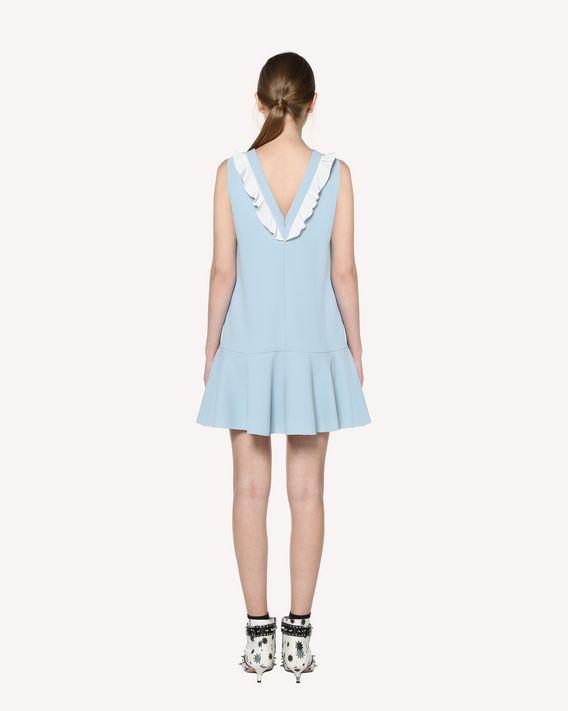 REDValentino Techno Fluid dress with ruffle detail
