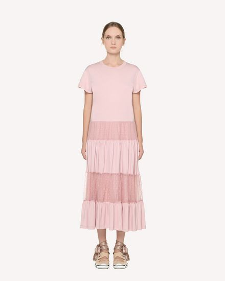 REDValentino Long dress Woman RR3MJ00TEMB R13 f
