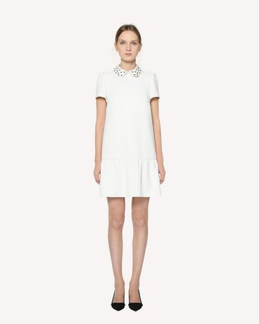 REDValentino Techno Fluid dress with rhinestone detail