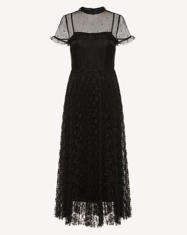 REDValentino RR3VA02ETDL 0NO Long dress Woman a
