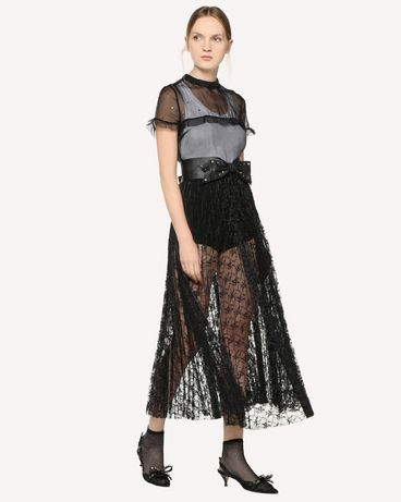 REDValentino RR3VA02ETDL 0NO Long dress Woman d