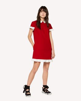 REDValentino Cady Tech dress with ruffle detail